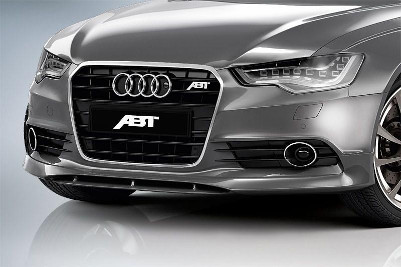 Spoiler pod přední nárazník pro Audi A6 4G0