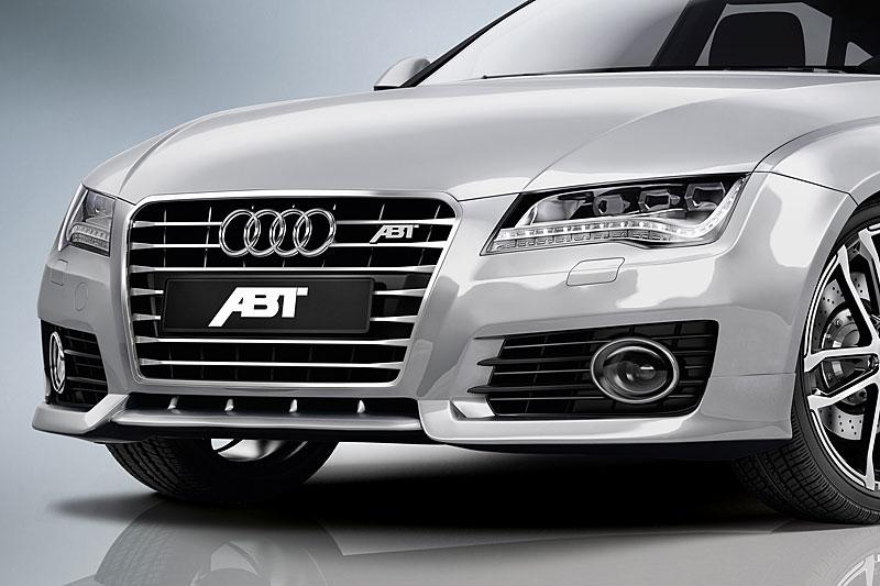 Spoiler pod přední nárazník pro Audi A7 4G8