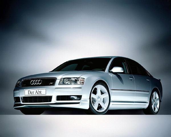 Spoiler pod přední nárazník pro Audi A8 4E