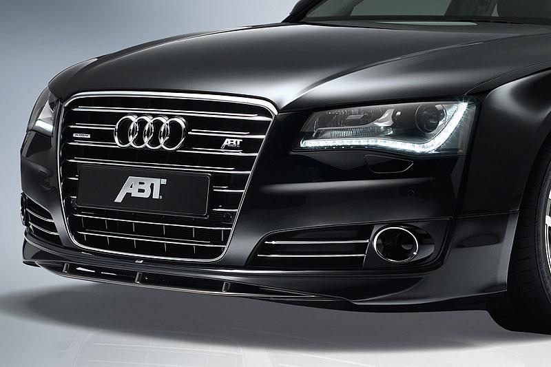 ABT spoiler pod přední nárazník pro Audi A8 4H0