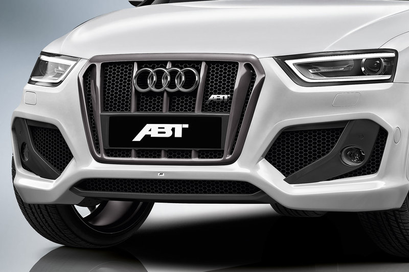 ABT kompletní přední nárazník pro Audi Q3 8U