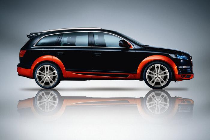 ABT sada nástavců bočních prahů pro Audi Q7 4L0