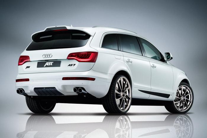 ABT set zadního spoileru a koncovek tlumiče výfuku pro Audi Q7 4L0