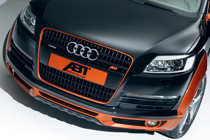 ABT spoiler pod přední nárazník pro Audi Q7 (4L0)