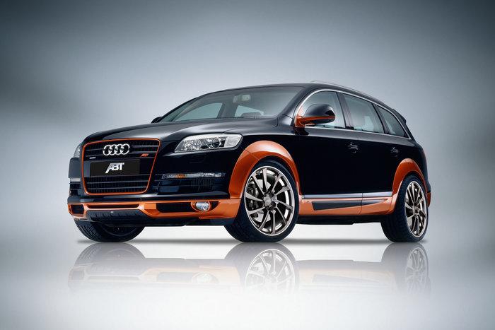 ABT sada rozšiřovacích lemů blatníků pro Audi Q7 4L0