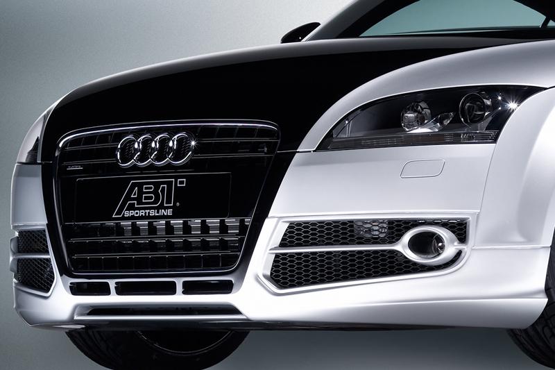 ABT spoiler pod přední nárazník pro Audi TT 8J