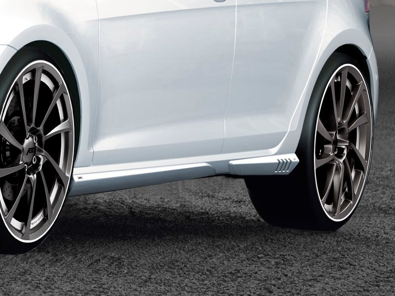 Sada bočních prahových nástavců pro VW Golf VII