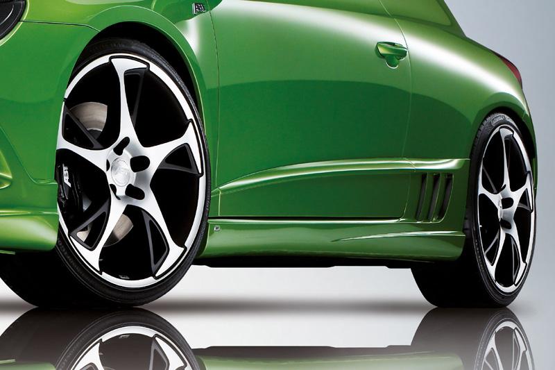 Dekorační folie do prahových nástavců pro VW Scirocco