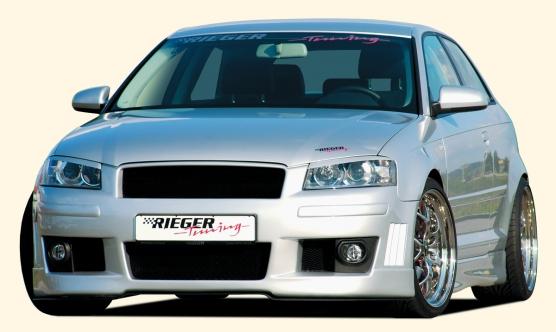 RIEGER kompletní přední nárazník pro Audi A3 8P