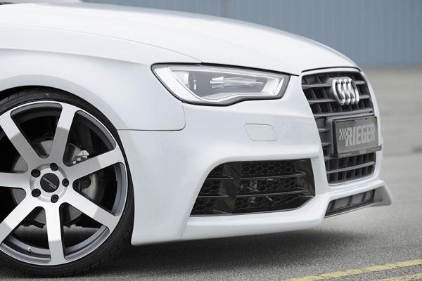 Audi A3 8V kompletní přední nárazník s ostřikovači světlometů