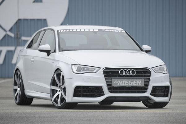 Audi A3 8V kompletní přední nárazník