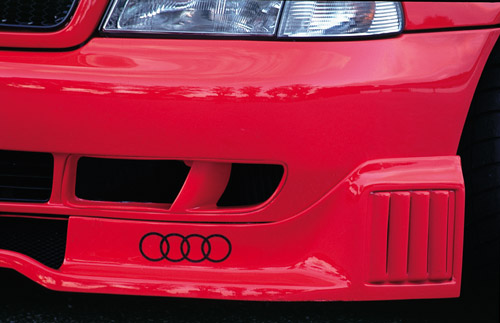 Spoiler Rieger pod přední nárazník pro Audi A4 B5