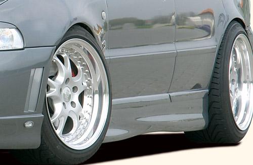Boční práh Rieger levý (vysoká verze) pro Audi A4 B5