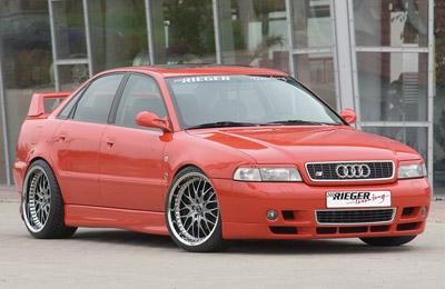 Boční práh Rieger pravý (vysoká verze) pro Audi A4 B5