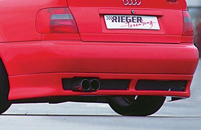 Spoiler Rieger pod zadní nárazník pro Audi A4 B5
